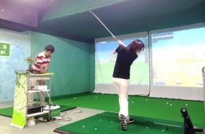 バーディ仁美ゴルフスクールの仕事イメージ